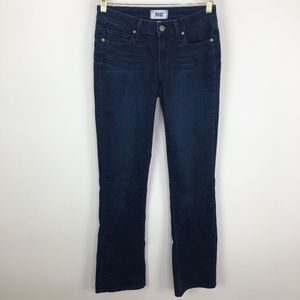 Paige Manhattan Boot Cut Sz 26 (Act 27W x 31.5L)